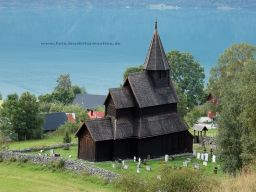 Stabkirche in Urnes - Norwegen